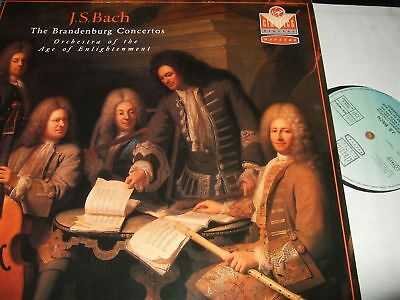 Orchestra Of The Age Of Enlightenment : Js Bach The Brandenburg Concertos 2Lp