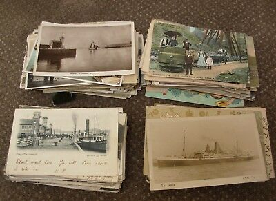 Collection Of 325 X Vintage Postcards Mostly British Interesting Lot