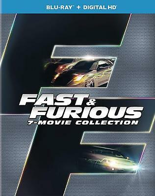 Fast & Furious 7-Movie Collection (Blu-Ray)