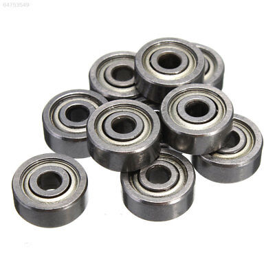 C342 623ZZ 3x10x4mm Bearing Miniature Ball Radial Bearings Silver Industrial'