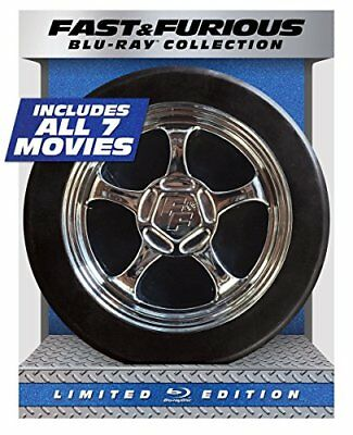 Fast & Furious 1-7 Collection - Limited Edition (Blu-ray + DIGITAL HD