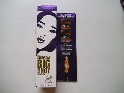 56d3bfd313c Maybelline The Colossal Big Shot Mascara Makeup X Shayla #231 Poppin' Purple