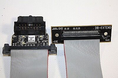 Green Hills Probe Adapter DB EXTEND APCOP-01 Debug Interface Module with Ribbon
