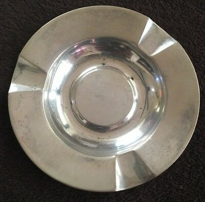 Vintage 830 Silver Ashtray