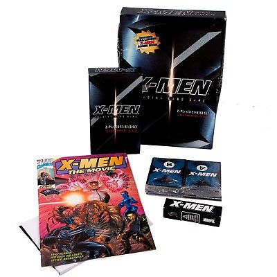Marvel - X-Men Trading Card Game - 2 Player Starter Set - New