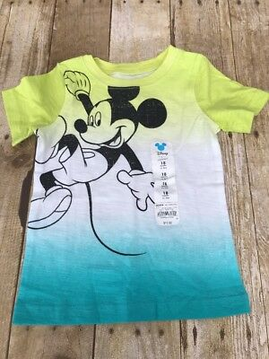 Jumping Beans Kohl's Disney Mickey Mouse Boys Shirt 18 Months NEW NWT