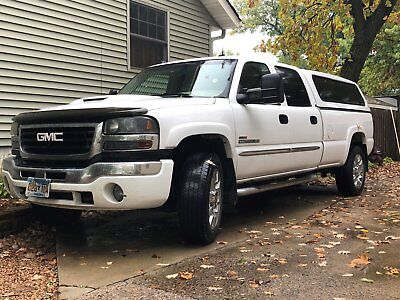 2003 GMC Sierra 2500 SLT 2003 GMC SIERRA 2500HD WITH DURAMAX DIESEL