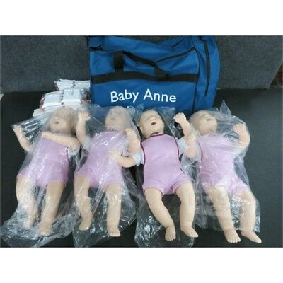 4-Pack Laerdal 131-01050 Baby Anne Manikins for CPR Training
