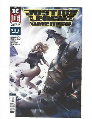 Dc Comics Justice League Of America #26 B Francesco Mattina Variant Cover Nm