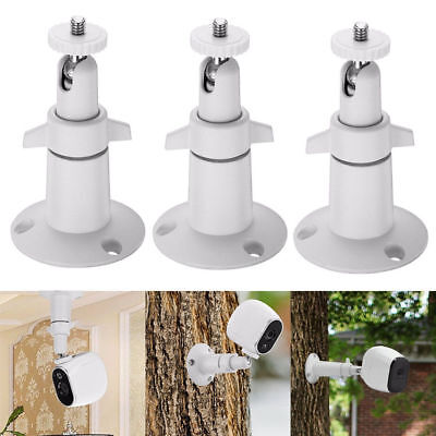 Security Wall Mount for Arlo or Pro Camera Adjustable Indoor Outdoor Cam-3Pack