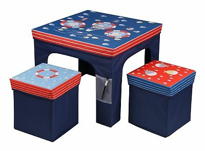 Childrens Kids Table and Chairs Nursery Sets Foldable Indoor Use Gift Foldable