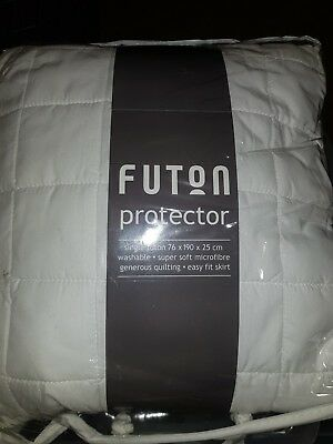 Futon cover / protector - single bed washable