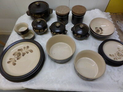 DENBY BAKEWELL - BOWLS, PLATES, CASSEROLES, DISHES - choose from drop down menu