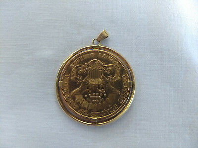 ⭐ USA 20 Dollar Gold Double Eagle / Liberty Head 1895 Coin 900er Gold !!TOP!! ⭐