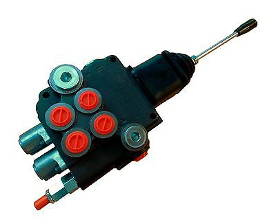 2 SPOOL HYDRAULIC JOYSTICK loader control valve 11gpm with FLOATING spool