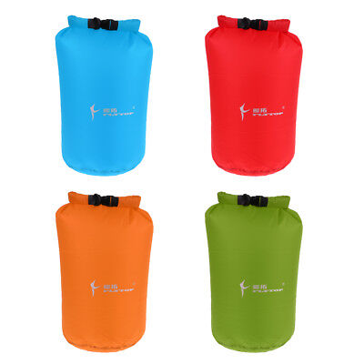Outdoor Waterproof Roll Top Compression Dry Bag Sack for Fishing Canoeing