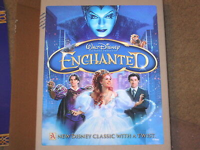 Disney Movie Club Collectible 3D Lenticular Picture Enchanted 8 x 10 RARE