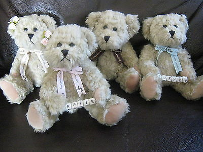Personalised New Baby/christening Teddy Bear Gift