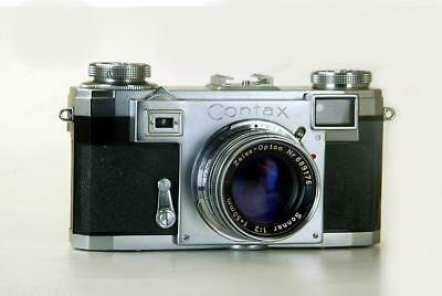 ZEISS IKON  CONTAX IIA The Very Final and Most Perfected Model