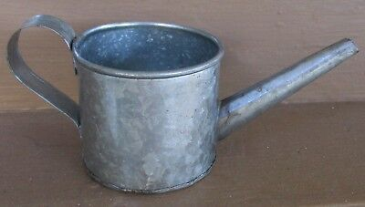 Vintage Small Galvanized Aluminum Watering Can 2 1 India Nice