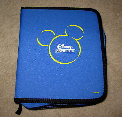 Disney Movie Club Binder for Lenticular Cards or DVDs collectors RARE Exclusive