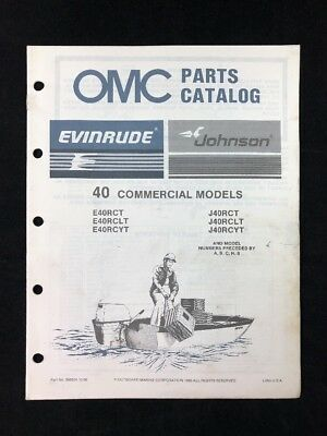 40 Hp Johnson Outboard Parts Diagram 1987 Electrical Wiring Diagrams