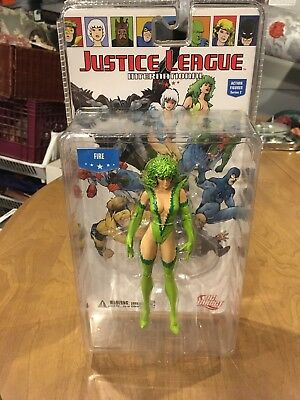 Dc Direct Justice League International Action Figure Series 2 Fire New Sealed
