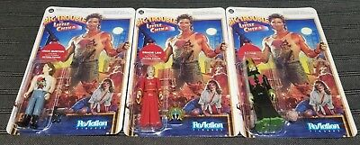 Funko Reaction Figures Big Trouble In Little China Jack, Lopan & Gracie Lot of 3