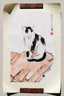 A Chinese Ink and Color Painting on Paper, Attribute to Xu Beihong