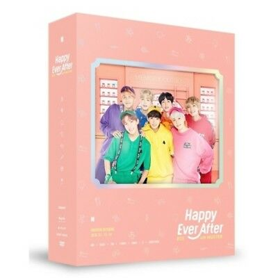 BTS-[Happy Ever After] 4th Muster DVD+PhotoBook+Post+Card+Gift+Tracking K-POP
