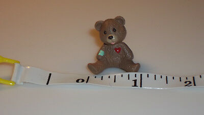 Vintage Hallmark 1992 mini Merry Miniatures Teddy Bear #3250QFM9194 HTF