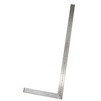 25/30/50/60CM Metal Engineers Try Square Ruler 90° Right Angle Measurement Tool