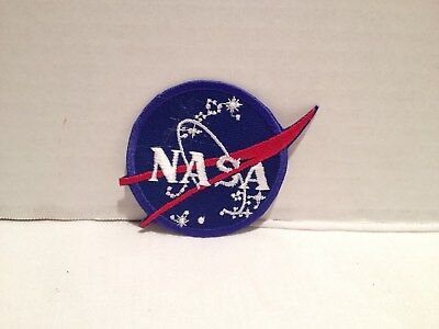 Authentic NASA Space Program Embroidered Vector Emblem Patch Collector item