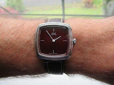 Smiths Astral 1970s fabulous looking design TV dial very rare find new strap vgc