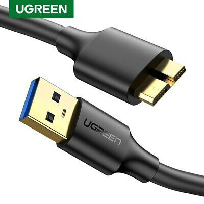 Ugreen Micro USB 3.0 Cable USB3.0 Type A to Micro B Cord Fr Samsung S5 Hard Disk