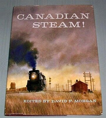 Canadian Steam, by D Morgan, HC book