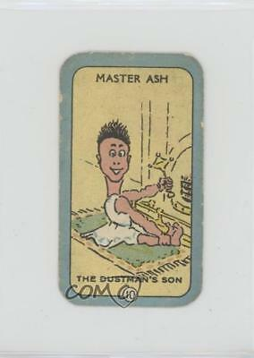 1925 Carreras Happy Family Tobacco Base #10 Master Ash Non-Sports Card 1i3