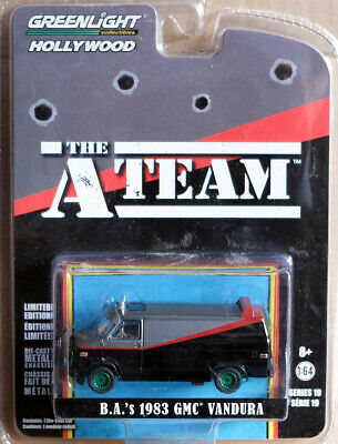 1983 GMC Vandura The A-Team TV Serie GREEN MACHINE 1:64 GreenLight 44790