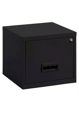 Pierre Henry Maxi Desktop One Single drawer A4 filing cabinet - Black - New +24h