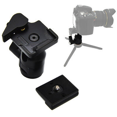 Mini Ball Head with 1/4-Inch Threaded Rapid Connecter RC2 for Manfrotto 486RC2 T
