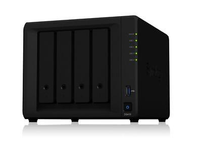Synology DS418 4BAY 1.4 GHZ QC 2X GBE 2GB DDR4 2X USB 3.0 - DS418