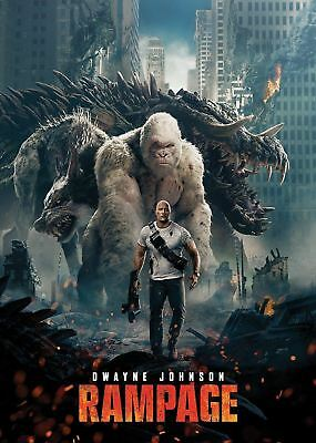 Rampage [DVD] [2018] new and sealed, with free delivery. UK Compatible