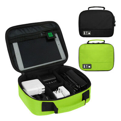 Portable Travel Storage Bag Electronics USB Charger Case Data Cable Organizer