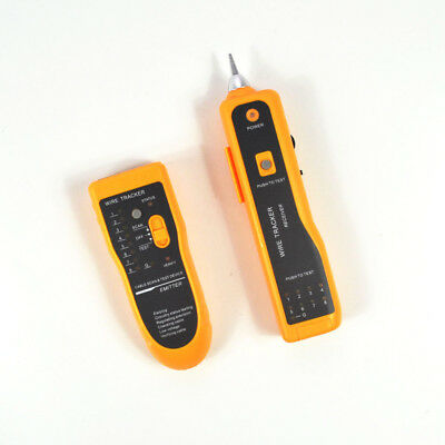 New Telephone Network Cable Wire Line LAN Cable RJ45 Tracker Toner Tracer Tester