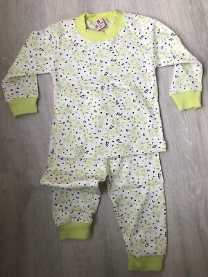 Baby girl/ boy unisex pjs pyjamas clothes toddlers sleepwear age 1-3