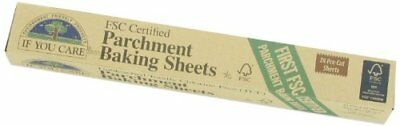 If You Care Parchment Baking Sheets 24 Sheets Pre Cut Unbleached Chlorine Free