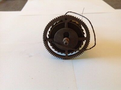 Antique LongCase Grandfather Clock Drive Wheel Cog Weight Driven 67mm