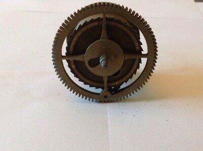 Antique LongCase Grandfather Clock Drive Wheel Cog Weight Driven 73mm