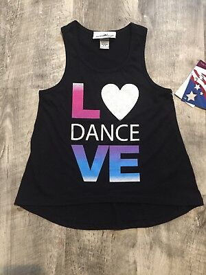 Ballet / Dance Tank Top by Motionwear - NEW - child small size 5-6