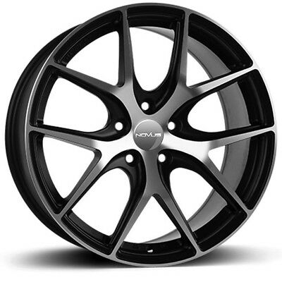 4 X 19 Novus 01 Alloy Wheels To Fit Audi A3 A4 A5 A6 Vw Mercedes